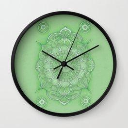 mandala Chakra Anahata Wall Clock