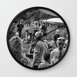 """""""Waiting For The Total Eclipse"""" Wall Clock"""