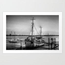 The Ranger Boat Heybridge Essex Art Print
