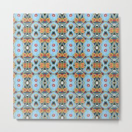 Egyptian pattern Metal Print
