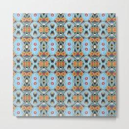 Egyptian pattern Metal Print