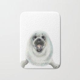 Adorable Seal Pup Bath Mat