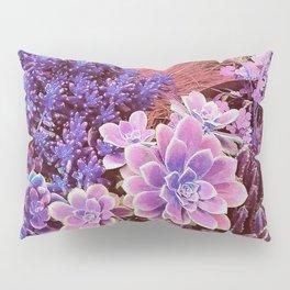 Succulent Garden View Pillow Sham