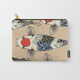 The Great Wave Of Koi Carry-All Pouch