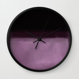 Rothko Inspired #2 Wall Clock