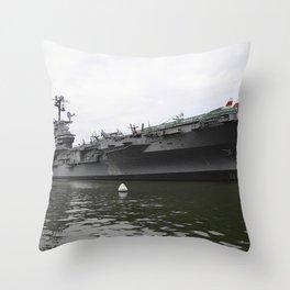 The Intrepid Throw Pillow