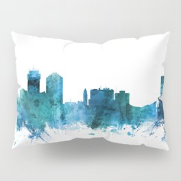 Wichita Kansas Skyline Pillow Sham