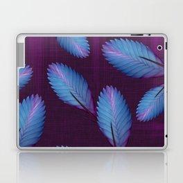 Tillandsia in dark purple Laptop & iPad Skin