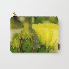 Englemann's Prickly Pear Bud to Bloom Carry-All Pouch