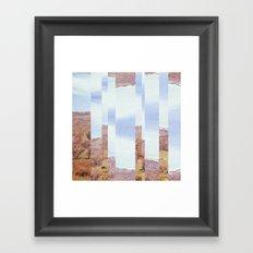 Rural Skies Framed Art Print