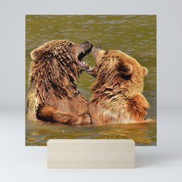 Brown Bears Mini Art Print