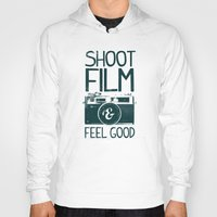 film Hoodies featuring Shoot Film by Victor Vercesi