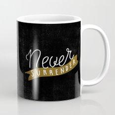 Never Surrender Mug