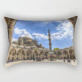 The Blue Mosque Istanbul Rectangular Pillow