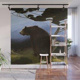 """Timberline"" Western Art by Herbert Dunton Wall Mural"
