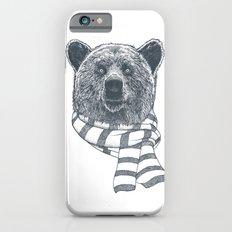 Winter Bear Drawing Slim Case iPhone 6s