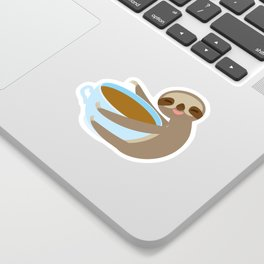 sloth & coffee 2 Sticker