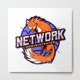 THE Network Administrator Metal Print