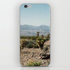 Nevada Desert Scene iPhone & iPod Skin