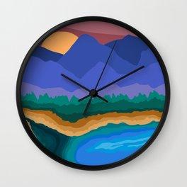 Wild Wonder 2 Wall Clock