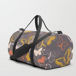 Butterfly pattern 007 Duffle Bag