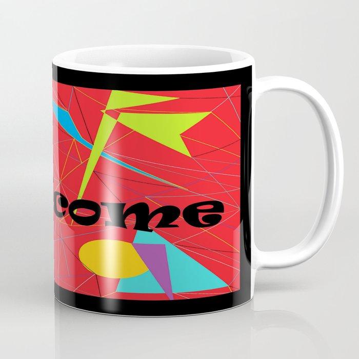 American Sign Language ASL WELCOME Coffee Mug