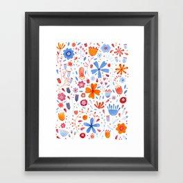 English Meadow Framed Art Print