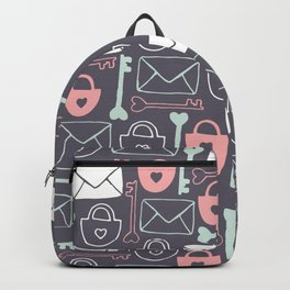 Key to my Heart Backpack