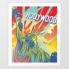 East Coast-West Coast Art Print