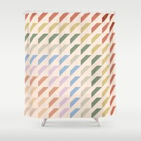 geo Shower Curtains featuring geo by Disp