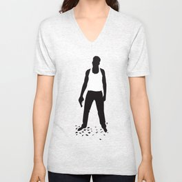 DIE HARD Unisex V-Neck