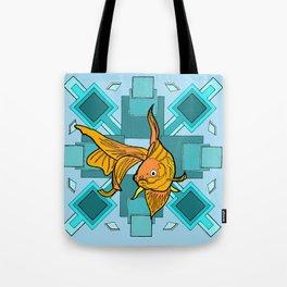 goldfish squares Tote Bag