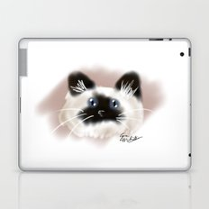 Crazy Siamese Laptop & iPad Skin