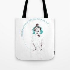 RocknRoll Girl Tote Bag