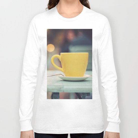 The yellow cup Long Sleeve T-shirt