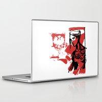 poland Laptop & iPad Skins featuring Poland by viva la revolucion