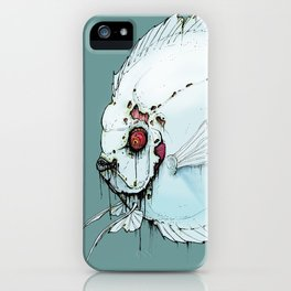 Zombie Discus iPhone Case