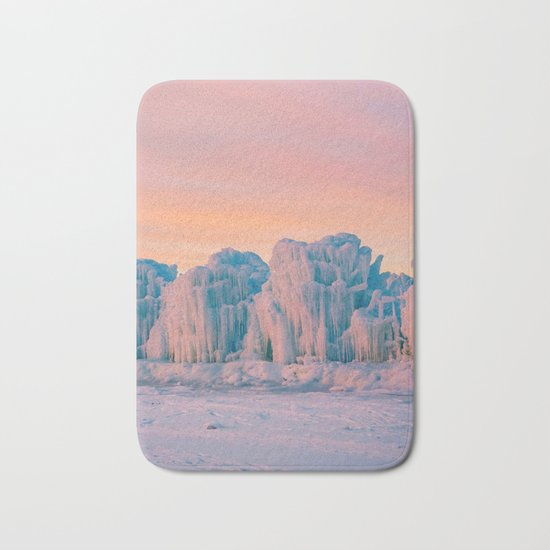 Ice Castles Bath Mat