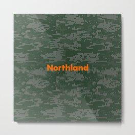 Northland Camo Metal Print