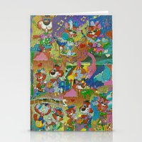 acid Stationery Cards featuring Acid by Advart