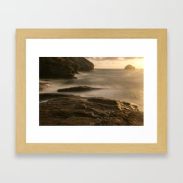 On the Waterfront III Framed Art Print