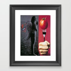 bourgeois bliss Framed Art Print