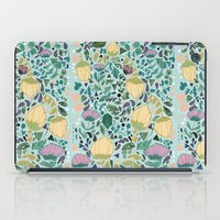 flower pattern iPad Cases featuring Flower Pattern by Jo Cheung Illustration