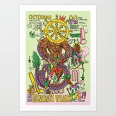 Magic 8 Art Print
