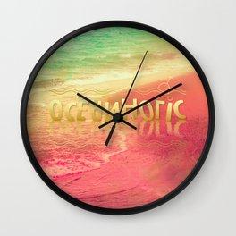 Beach Waves III - Oceanholic Wall Clock