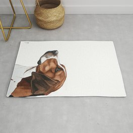 Harrier Dog | English hunting dog Rug