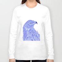 eagle Long Sleeve T-shirts featuring Eagle by Olya Goloveshkina