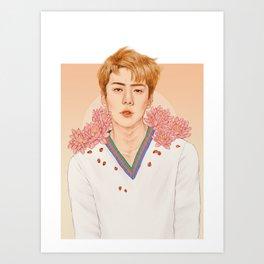 lotus [sehun exo] Art Print