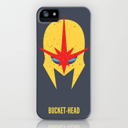 Nova - Bucket-Head iPhone Case