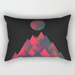 It's always like this somewhere Rectangular Pillow